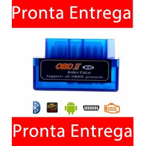 Scaner Automotivo Universal Obd2 Bluetooth Pc Diagnóstico