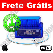 Scanner Diagnóstico Carro Obd2 Wifi Iphone Ipad Frete Gratis