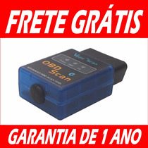 Scanner Automotivo Obd2 Bluetooth Android - Garantia Um Ano
