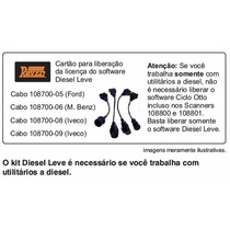 Kit Opcional Para Utilizar Linha Diesel Leve Scanner Raven 3