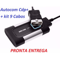Scanner Automotivo Autocom Cdp+ Pro Bluetooth +kit 9 Cabos