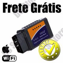 Scanner Diag. Carro Obd2 Wifi Iphone Ipad Apple Frete Grátis