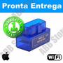 Scanner Diagnóstico Carro Obd2 Wifi Iphone Ipad - Promoção