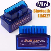 Scanner Automotivo Elm327 Obd2 V2.1 Bluetooth Diagnóstico Pe