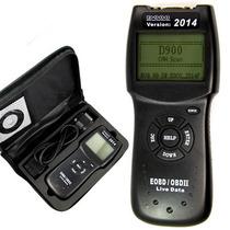 Scanner Automotivo D900 Obd2 - Versão 2014
