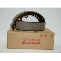 Sapata C/ Lona Freio Traseiro Original Toyota Hilux 05 A 13