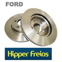 Par Disco De Freio Diant. Ecosport 03/, Focus 1.6 8v 03/07