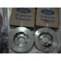 Disco Freio Original Ford Escort Verona 93 96 2 Peças Cavesa