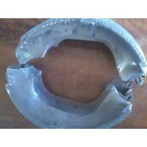 Sapatas C/ Lonas De Freio Traseiro Hilux 93/ Med 295x52