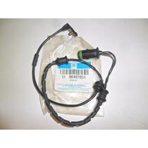 Sensor Desgaste Da Pastilha De Freio C/ Abs Vectra 90497051