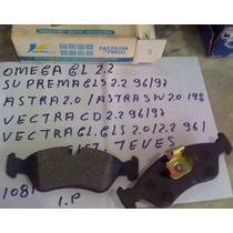 Pastilha Freio Dianteira Omega /suprema /vectra/astra