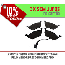 Pastilha De Freio Dianteira C/ Sensor Vw New Beetle 2.0