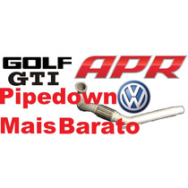 Downpipe Golf Gti 13 14 Mk7 Cat Delete Less Apr K&n