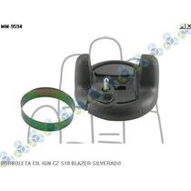 Borboleta Cilindro Ignição S10 Blazer Silverado - Cinza