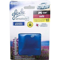 Glade Sensations Perfume De Ambiente E Carro 8g 2 Unidades