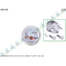 Termometro Eletronico Oleo 52mm 77-302º 12v Cat
