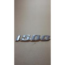 Emblema Em Alumínio Do Fusca 1500 Original Vw.