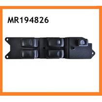 Conjunto Botão Interruptor Vidro Elétrico Vidro L200 Pajero