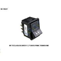 Interruptor Tecla De Bloqueio Diferencial Mb 1º,2º Eixos