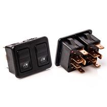 Interruptor Vidro Eletrico Duplo Gol Familia 93 A 96 Kostal