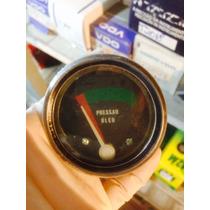 Indicador De Pressao De Oleo Mecanico Universal 60 Milimetro