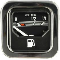 Indicador Combustível Elétrico Painel Pr Quadrado Fusca Led