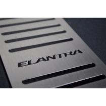 Descanço De Pé Em Aço Inox Hyundai Elantra 2013 A 2016