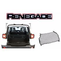 Rede Porta Malas Retenção Para O Jeep Renegade - Auto330