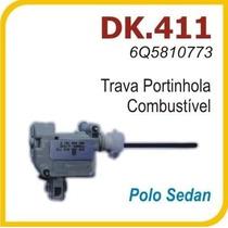 Atuador Trava Eletrica Portinhola Tanque Vw Polo Sedan 411