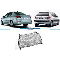 Rede Porta Malas Peugeot 206 207 Hatch & Sedan Todos