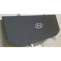 Tampão Hyundai Hb20 Liso Logo Bordado Furação 6x9