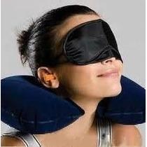 Lote20 Kit Viagem 3 Em 1 Travesseiro Más. Dos Olhos Proteto