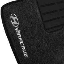 Tapete Carpete Hyundai Veracruz Personalizado - 5 Peças