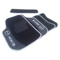 Jogo De Tapetes Para Mazda Mx3 Personalizado Carpete
