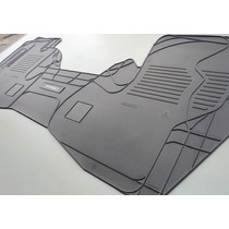 Tapete Em Borracha Pvc - Ford F-250 Cabine Dupla
