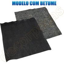 Feltro Betumado Automotivo Forro Capo Portas 1x1 Metro