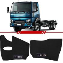 Tapete De Pvc Caminhão Ford Cargo 1119 Logo Vinil Azul 2 Lad