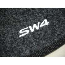 Tapete Para Porta Malas Toyota Sw4 2005/2012 Carpete Bordado