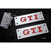 Emblema Vw Gti Carpete Tapete Golf Gol Polo !!!