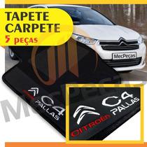 Tapete Carpete Personalizado Citroen C4 Pallas 05 Peças