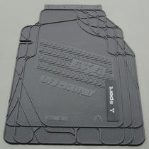 Tapete Em Borracha Pvc - Mitsubishi L200 Sport
