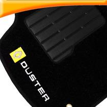 Tapete Carpete Renault Duster 2011 2012 2013 2014 Preto 5 Pç