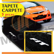 Tapete Carpete Com Logo Bordado Fit 2003 2004 2005 2006 2007