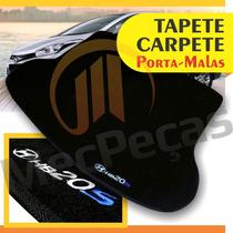 Tapete Porta Malas Carpete Personalizado Hb20s