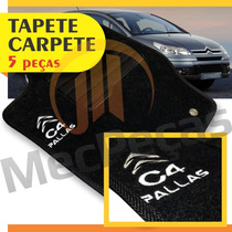Tapete Carpete Personalizado Com Logo Bordado C4 Pallas