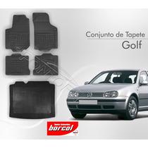 Tapete Golf 1992 A 2012 4 Pcs + Porta Malas Borracha Borcol