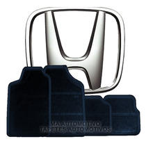 Tapete Honda Accord Wagon (antigos) Em Borracha _(todos)