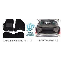 Tapete Carpete + Do Porta Malas Tucson 2003 Até 2015bordados