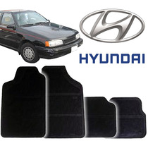 Tapete Borracha Pvc Hyundai Excel 93 94 95 96 97 Novos 4pçs