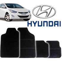 Tapete Borracha Pvc Hyundai Elantra 96 97 98 99 00 01 - 4pçs
